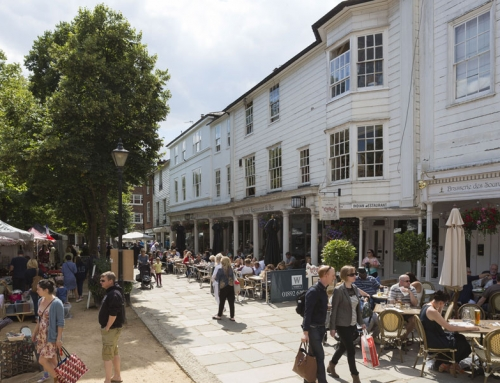 The Upper Pantiles, Royal Tunbridge Wells