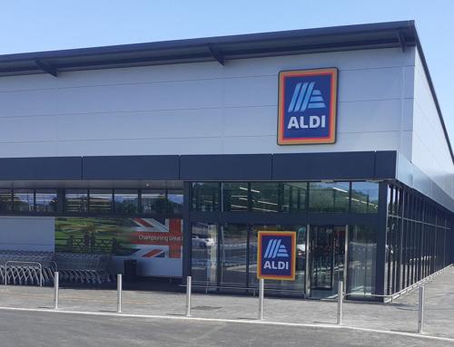 Welcoming Aldi to PE1!