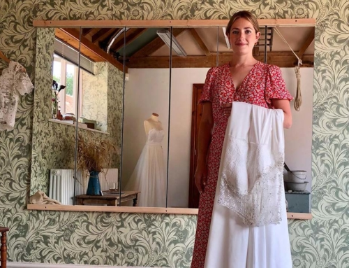 Sustainably sourced bridalwear that doesn't cost the earth